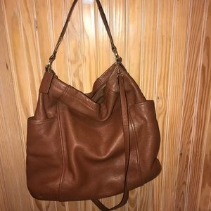 Coach Chicago Gallery Hobo in Brown